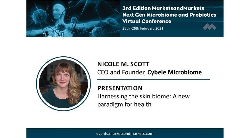 Next Gen Microbiome and Probiotics Virtual Conference: Speaker Nicole Scott
